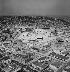 Remember when? World's Fair grounds under construction, 1961 (Seattle Department of Transportation) Tags: seattle sdot transportation municipalarchives rememberwhen historic archive spaceneedle construction 1961 worlds fair grounds center queenanne ibew hall key arena transmission towers thankful