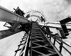 Remember when? Space Needle under construction, 1961 (Seattle Department of Transportation) Tags: seattle sdot transportation municipalarchives rememberwhen historic archive spaceneedle construction 1961 cool angle thankful