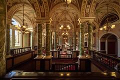 Dresden - palace of sound (Rafael Zenon Wagner) Tags: semperoper oper opera marmor marble palace dresden sachsen saxony deutschland germany licht light indoor window fenster nikon d810 laowa12mmf28zerod