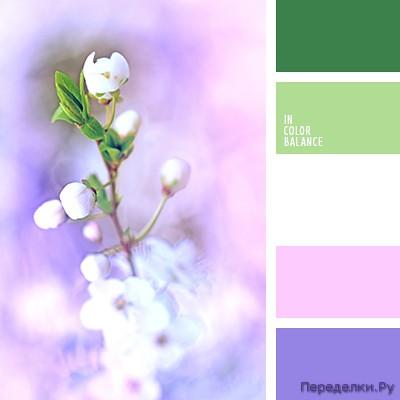 Сочетание белого цвета