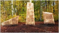 Laisser son empreinte (philippedaniele) Tags: forêt forêtverte seinemartime exposition forêtmonumentale artistes plasticiens architectes