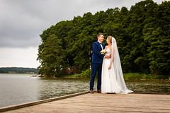 Agnieszka i Piotr (Tymcio Piotr) Tags: wedd ślub plener ślubny bride groom