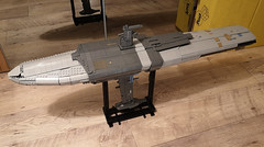UCS MC75 029 (Commander Keller) Tags: star wars ucs lego rogue one episode 9 cruiser battle space micro alliance rebel scarif raddus admiral profundity mc mon calamari 75