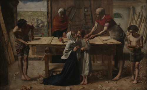 Christ in the House of his Parents ('The Carpenter's Shop') (1849-50)