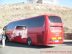 "2019 030305 MAN SUNSUNDEGUI SC7 Autobuses Lorenzo S.L MURCIA 7081KPD  AT CAPO DE GATA LIGHTHOUSE (Andrew Reynolds transport view) Tags: europe spain andalucia streetcar transport ""mass transit"" urban rural bus coach diesel passenger omnibus 2019 030305 man sunsundegui sc7 autobuses lorenzo sl murcia 7081kpd at capo de gata lighthouse"
