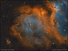 IC1848 - The Soul Nebula - Hubble Palette (francesco.battistella) Tags: astrophotography astronomy astroatlas astro ic1848 nebula soul hubble palette space ccd qhyccd qhy9 optolong filters passion astrometrydotnet:id=nova3765304 astrometrydotnet:status=solved