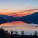 Sonnenuntergang am Großen Alpsee
