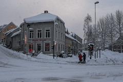 Snowfall (Mikesch.75) Tags: schnee snow tromsö troms norway norwegen street winter city arctic polar polarcircle