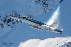 Axalp 2019 (Andy_Kenyon) Tags: fa18 swiss airforce axalp snow switzerland hornet jet