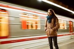 Train to unknown (jan.celikovsky) Tags: kodak nikon f65 analog nikkor 50mm 14 g portrait color plus iso 200 longtime