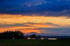Zachód Słońca w Kalu (Tymcio Piotr) Tags: sunset kal