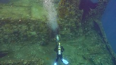 are you coming in with me? (werner boehm *) Tags: wernerboehm redsea wreck wrack padi scubadiving egypt