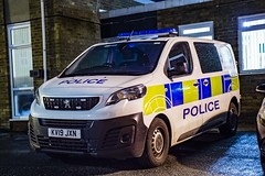 KV19 JXN (S11 AUN) Tags: durham constabulary peugeot expert police cage cell station response van panda car incident vehicle irv stanley town council kv19jxn