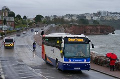 Wet Weather Training (Better Living Through Chemistry37) Tags: kx59nbl 53603 plaxton panther plaxtonpanther pentax50mm pentax50mmf17 volvo b9r volvob9r stagecoach stagecoachdevon stagecoachsouthwest transport transportation vehicles vehicle psv publictransport
