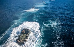 191124-N-HD110-1238 (U.S. Pacific Fleet) Tags: usnavy unitedstatesnavy ussharpersferry forgedbythesea sailors lsd49 amphibiousdocklandingship lsd harpersferryclass underway ussboxeramphibiousreadygroup arg us3rdfleet deployment tigercruise welldeckoperations pacificocean