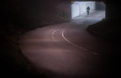 Uppsala, November 20, 2019 (Ulf Bodin) Tags: night fålhagen bicycle tunnel streetphotography outdoor salabackar cykelväg cykla salabacke biker sweden uppsala canonrf85mmf12lusm sverige cyklist canoneosr cykel urbanlife uppsalalän