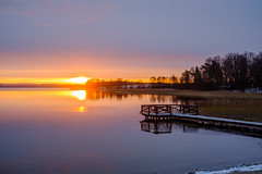 Sunset at Kal (Tymcio Piotr) Tags: lake jezioro sunset zachódsłońca święcajty węgorzewo kal