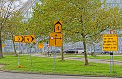 Lost (Hindrik S) Tags: lost roadsign contournement bypass detour omleiding umleitung bord boerd trafficsign verkehrszeichen orange oranje road weg pfad wei strase route green groen grien grass gras gers grün vert verkeer ferkear traffic circulation umlauf liwwadden ljouwert leeuwarden douwekalmaleane poptawei westeinde sonyphotographing sony sonyalpha amount minoltaamount a77ii α77 slta77ii sonya77ii sonyilca77m2 tamron tamronaf16300mmf3563dillvcpzdmacrob016 2019 hdr paintshoppro x8