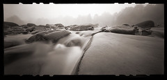 On the Rocks (DRCPhoto) Tags: zeroimage612b pinhole lenslessphotography kodakbw400cn 120film cheatriver albright prestoncounty westvirginia
