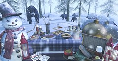 Winter Treats (Reaghan Resident) Tags: {whatnext} figure8 hunt love mesh decor secondlifehomedecor landscape winter homeandgarden homedecor