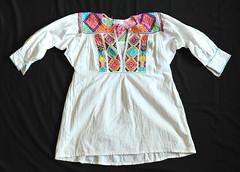 San Vicente Coatlan Zapotec Blouse Mexico (Teyacapan) Tags: zapotec blouses blusa oaxaca mexican textiles embroidery ropa clothing vestimenta
