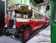 Manchester 28 Manchester Museum of Transport (TonyW1960) Tags: manchester museumoftransport 28 vr5742 leylandtiger vulcan ts2