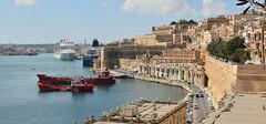 Grand Harbour, Malta (M McBey) Tags: malta mediterranean island harbour grandharbour port ships cruise valletta