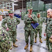 Commander, U.S. 7th Fleet tours Naval Construction Force spaces on board Naval Base Guam