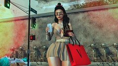 → ● 1554 ● ← (♕ Xaveco Mania - Jhess Yoshida ♕) Tags: navycopper blackbantam ricielli amitieposes ksposes secondlifephotography secondlifeblog secondlife sexy girl moda model sl slfashion blogger