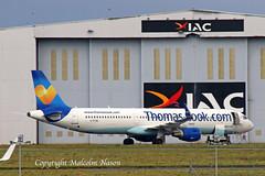 A321 C-FTXQ AIR TRANSAT \ THOMAS COOK colours (shanairpic) Tags: jetairliner passengerjet a321 airbusa321 shannon thomascook airtransit gtcdb oeids cftxq
