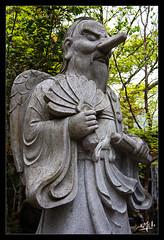 10ème jour / 10th day - Un panthéon très étendu / A very extensive pantheon - Daisho-in - Miyajima (christian_lemale) Tags: daishoin miyajima japon japan temple statue nikon d7100 宮島 日本