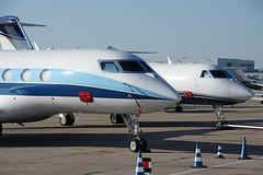 Gulfstream littles faces (French Frogs Pix ✈) Tags: avion aircraft plane airplane aeroplane aviation jet bizjet corporatejet businessjet gulfstream