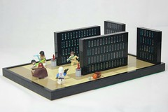 LEGO Star Wars Jedi Temple Archives MOC |Order 66| (The Real Legoman Productions) Tags: lego starwars legostarwars legomoc legostarwarsmoc legojeditemple jeditemple order66 anikanskywalker starwarsmoc