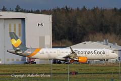 A321 C-GTZX AIR TRANSAT \ THOMAS COOK colours (shanairpic) Tags: jetairliner passengerjet a321 airbusa321 shannon thomascook airtransit gtcdh oeiei cgtzx