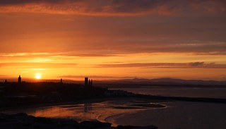 Sunset over St Andrews