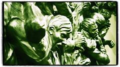 Robert Longo in Green - Corporate Wars (1982) (1elf12) Tags: robertlongo hallartfoundation schlos art kunst castle derneburg germany deutschland sammlung corporatewars