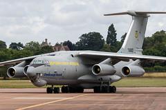 76683 / Ukrainian Air Force / Ilyushin IL-76MD (Charles Cunliffe) Tags: canon7dmkii aviation raffairford egva ffd ukrainianairforce ilyushinil76 il76md 76683
