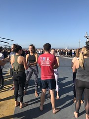 San Diego, CA Sweat for Service (Travis Manion Foundation) Tags: uss midway yoga