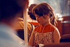Little Ticket-Taker (AntyDiluvian) Tags: england greatbritain britain london vintage zoo londonzoo canal regentscanal canalboat waterbus tickettaker littletickettaker girl littlegirl