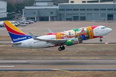 "N945WN ""Flordia One"" 2010 Boeing 737-7H4 Southwest (SamCom) Tags: southwest swa b737 kdal dal lovefield dallaslovefield n945wn flordiaone 2010 boeing 7377h4"