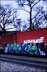 2much REM (timetomakethepasta) Tags: 2much rem cult freight train graffiti art intermodal