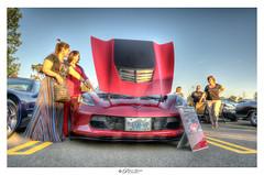 Corvette Z06 (Pearce Levrais Photography) Tags: auto automobile car carshow supercar sportscar racing people outside outdoor corvette z06 sony a7r3 hdr pavement portrait display
