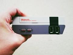 N I N T E N D O (0sire) Tags: phonecamera nes nintendo gaming system console classic mini