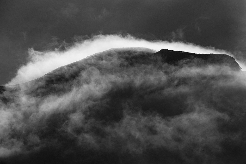Clouds Over Moelwyn Bach