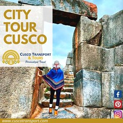ONE DAY TOUR TO CUSCO CITY!! Cusco, the capital city of the ancient Inca empire, is known as the belly button of the earth. Cusco was home of the Inca kings – that is one of the reason why we can find palaces, administration centers and important temples (cuscotransportweb) Tags: qoricancha citytourcusco privatetours tourcusco cuscotransport cuscoperú sacredvalley tipon travel