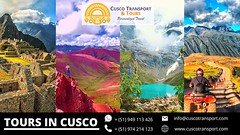 On your trip to South America don't forget to explore the Best Tourist Attractions in Cusco You will find fantastic Tourist Attractions in Cusco, and spectacular Incan ruins and archeological sites, mystical natural formations and incredibly beautiful lan (cuscotransportweb) Tags: privatetours tourcusco moray maras cuscotransport cuscoperú sacredvalley
