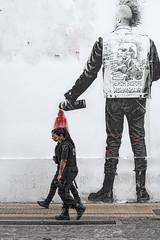 (Santiago Sito) Tags: santiagosito street color punk police paint juxtaposition