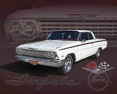 '62 Impala (david.horst.7) Tags: car auto automobile chevy chevrolet impala 62 1062 art autoart poster
