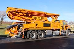JF Construction Services LLC Concrete Pump Truck (raserf) Tags: jf construction services llc truck trucks pump pumper pumping concrete cement mack putzmeister sturtevant wisconsin racine county bridgeport texas