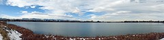 Crown Hill Lake Pano (zeesstof) Tags: businesstrip geo:lat=3975585271 geo:lon=10510190823 geotagged triptodenver zeesstof park crownhillpark suburban panorama